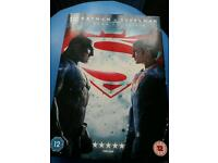 Batman v superman dvd