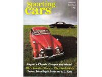 10 x ISSUES OF 'SPORTING CARS', VOL 1 nos. 3-12, 1983