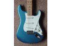 Fender Standard Stratocaster 2015, (Mexican/MIM) Strat, LPB/Maple - in excellent condition