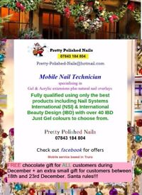Mobile Nail Technician PRETTY POLISHED NAILS Truro based