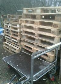Euro pallet plus others posts fire wood reclaimed