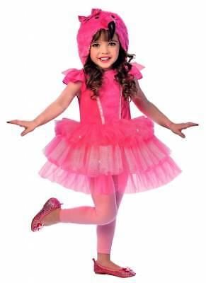 Flamingo Kostüm Kleid für Kinder Mädchen