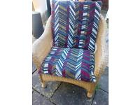 cane/wicker conservatory chair x1 FREE