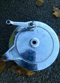 Yamaha rear brake drum