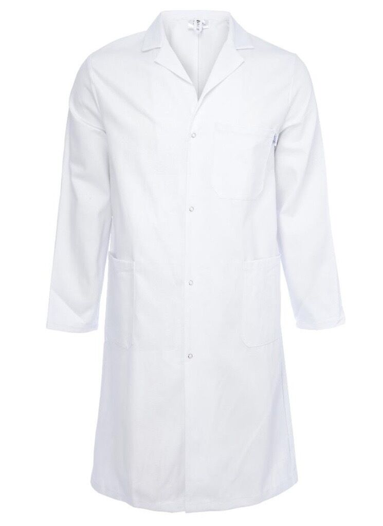 Lab Work Doctors Medical White Coat SNewin Liverpool Street, LondonGumtree - A brand new white lab coat for cosmetics and scientific professionals. White Stud Button Fastening Polyester/Cotton Fastening Buttoned Sizes S XXXL Poly/Cotton