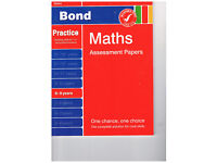 Bond Maths Assessment Papers 8-9 years unused