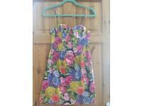 Stunning Topshop floral dress size 10