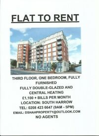ONE BEDROOM PROPERTY FOR RENT