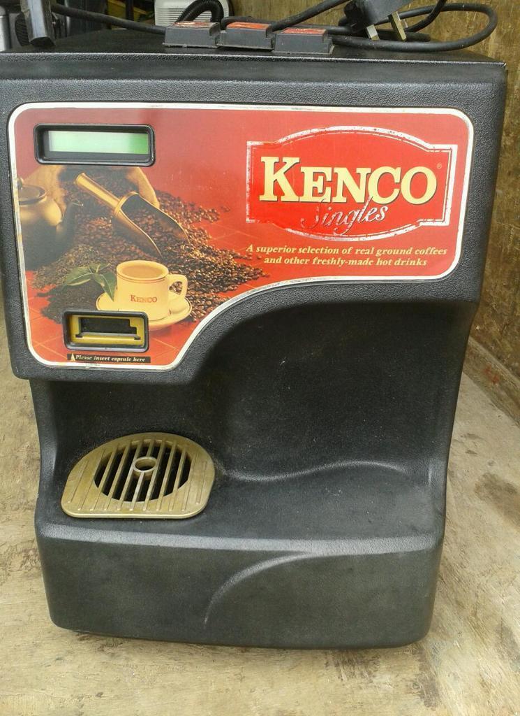 KENCO SINGLES COFFEE MACHINE TAKES CAPSULES.