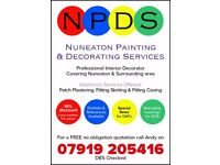 Nuneaton Painting & Decorating Services - Professional, High Quality & Reliable Decorator