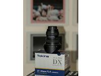 TOKINA 11-16mm AT-X PRO DX 116 F2.8 nikon mount
