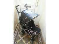 Silvercross pop light weight stroller/pushchair with raincover BARGAIN!!!!