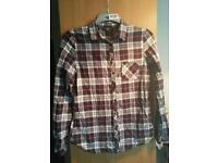 New look checked shirt 14-15 yrs
