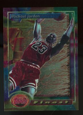 1995 Topps Finest #1 Michael Jordan