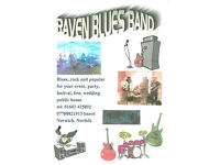 RAVEN BLUES ROCK BAND is at The BULL P.H. Middleton Lane Hellesdon Fri 3 March 8.30pm all welcome