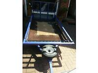 Golf buggy and trailer ex condition