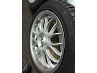 17 inch Citroën alloy wheels