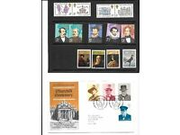 commemerative first day covers/stamps in pristine condition all of Great Britains