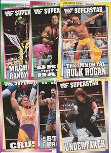 CARTE POSTALE COLISEUM VIDEO WWF 1993 (E2)
