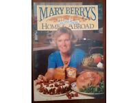"Mary Berry old recipe book. ""Recipes from Home and abroad""."