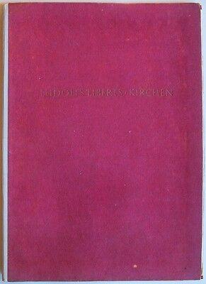 Ludolf Lieberts Kirchen - 1948 - Auflage nur 3000 Stück - echte Rarität