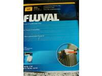 Fluval boxed filter
