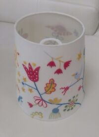 Beautiful embroidered lamp shade