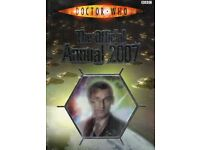Doctor Who 2007 Official Annual In Excellent Condition