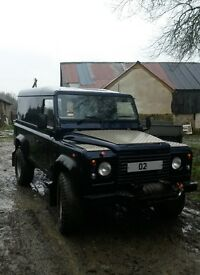 LAND ROVER 110 TD5 02