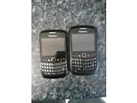 2 blackberry's for sale