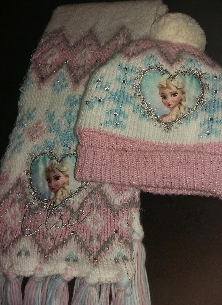 FROZEN hat.scarf set