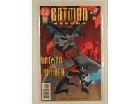 DC Comics Batman Beyond No 1 signed Hilary J Bader COA NM only 500 copies! Rare