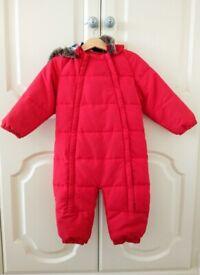 John Lewis Baby Snowsuit (12 - 18 months)