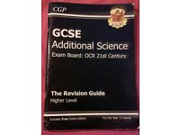 GCSE Additional Science, Textbook/Revision Guide, CGP, OCR 21st Century