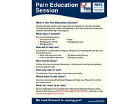 Free Pain Education Session for Chronic pain sufferers in and around Glasgow