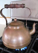 Solid Copper Tea Pot