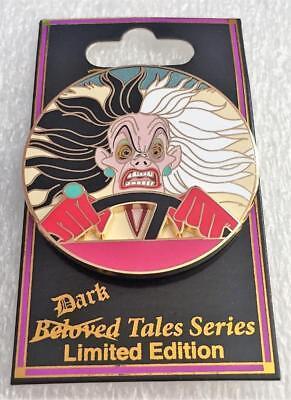Disney DSF DSSH Villains Event Cruella De Vil Beloved Dark Tales LE 300 Pin