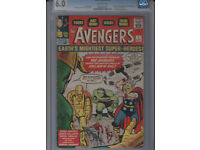 Wanted: American comics, from the 1940s to the present. High prices paid, will travel!