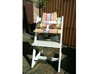 Stokke Tripp Trapped High Chair plus baby set and cushion cover