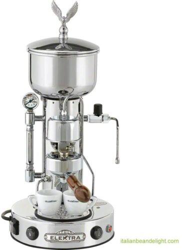 Refurb Elektra Semiautomatica Microcasa Espresso & Cappuccino Machine Chrome