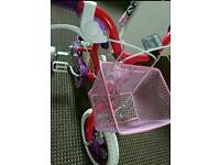 Sweetie girl bike with basket