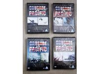 4 Crusade in the Pacific DVD's, unopened.