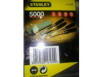 Stanley woodwork chisels really good top quality chisels brand new.