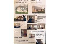 Rural 3 Bed Property to rent.