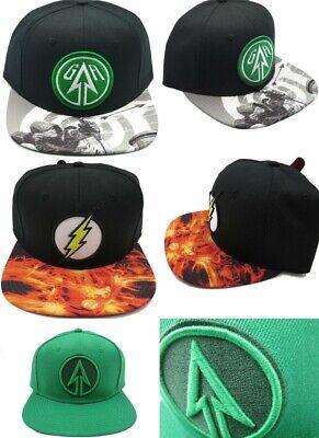 DC Comics - Flash - The Arrow - CW Network - Snapback Hat Baseball Caps - Flash Hat