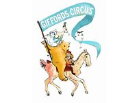 Run away to the circus! Assistant needed April - Sept for general house help, baby sitting, errands