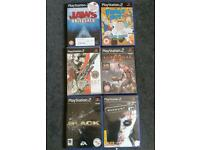 Ps2 game collection