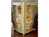 Gorgeous Refurbished China Cabinet - WE CAN DELIVER