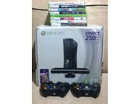 Xbox 360 Fantastic Value Bundle 250GB with Accessories and Games