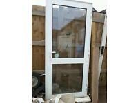 Upvc double glazed back door